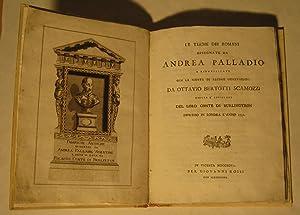LE TERME DEI ROMANI DISEGNATE DA ANDREA PALLADIO e ripubblicate con la giunta di alcune ...