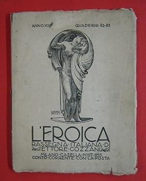 L'EROICA - 1924 - 82-83 - dedicato