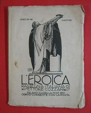 L'EROICA - 1924 - 85-86 dedicato a