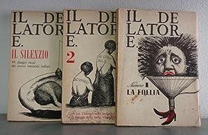 IL DELATORE (rivista d'avanguardia) 1964-1965 - SECONDA SERIE (vol. 1,2,3,4,5) collezione ...