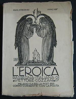 L'EROICA - 1924 - 87-88-89-90 dedicato in