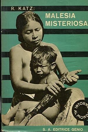 MALESIA MISTERIOSA, Milano, Genio, 1933: Katz Riccardo