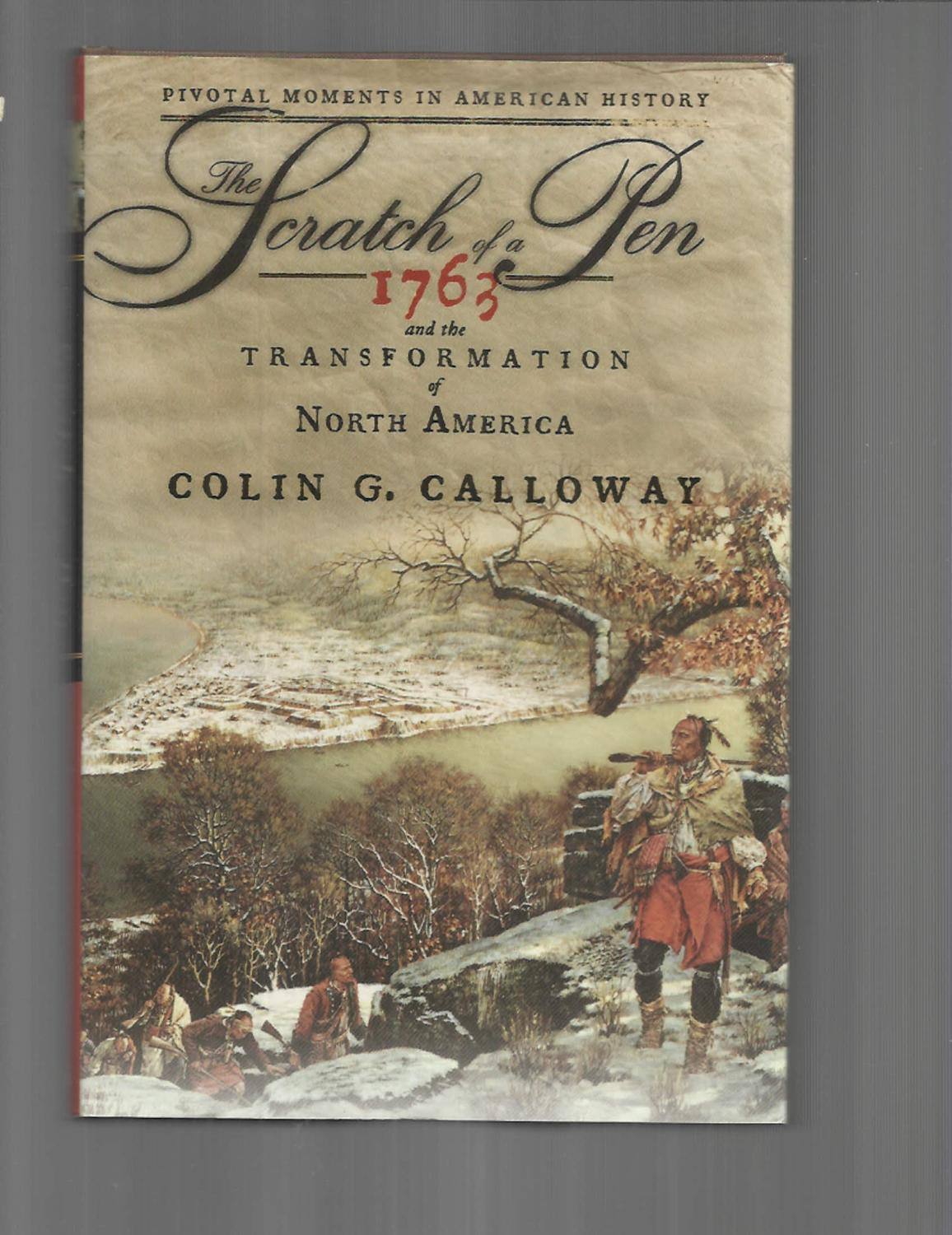 the scratch of a pen calloway colin g