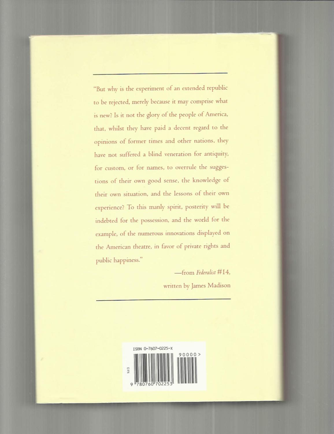 Edited By Benjamin THE FEDERALIST The Famous Papers On Principles Of American Government