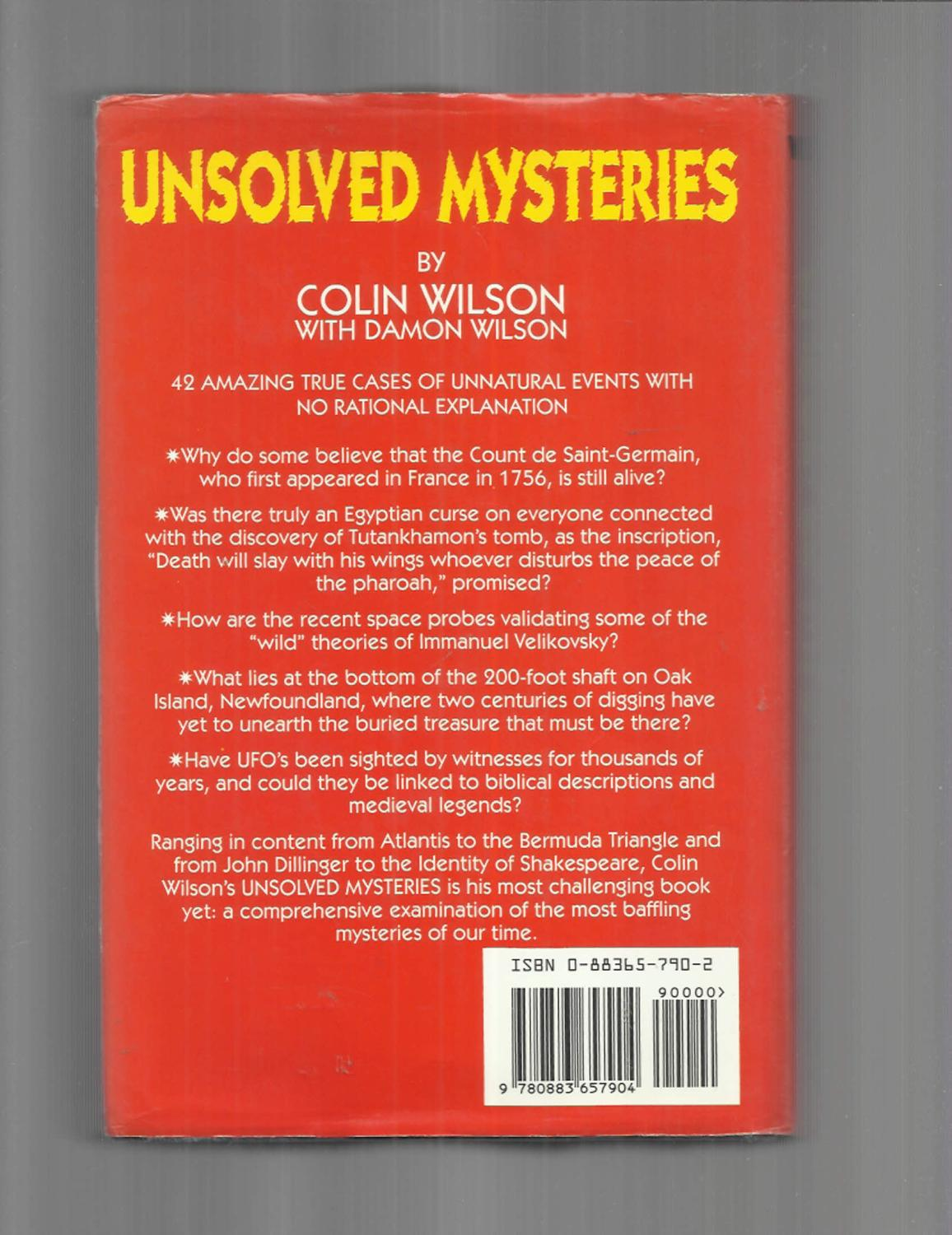 UNSOLVED MYSTERIES: 42 Amazing True Cases Of