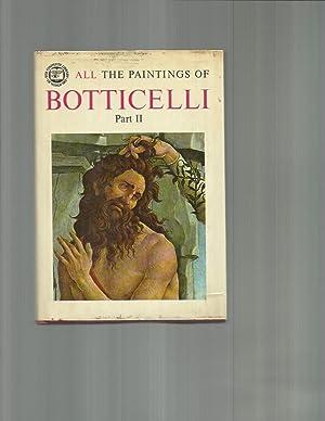 ALL THE PAINTINGS OF BOTTICELLI. Four (4) Volume Set: Salvini, Roberto