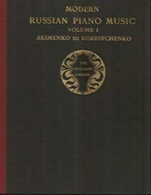 MODERN RUSSIAN PIANO MUSIC: Volume (1) One.: Von Sternberg, Constantin