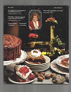 MISS RUBY'S SOUTHERN CREOLE & CAJUN CUISINE. With A Foreword By The Honorable Lindy Boggs. ~...