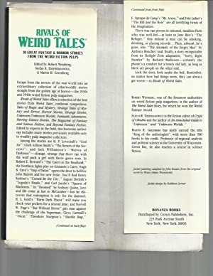 RIVALS OF WEIRD TALES: 30 Great Fantasy & Horror Stories From The Weird Fiction Pulps. ...