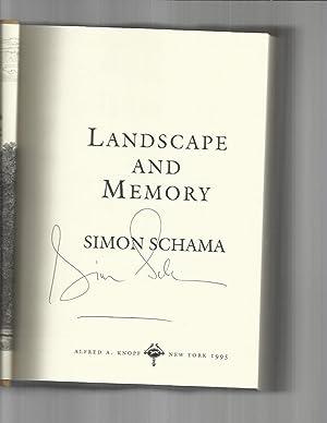 LANDSCAPE AND MEMORY ~SIGNED COPY~: Schama, Simon