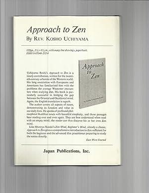 ZEN AND THE MIND: Scientific Approach To Zen Practice.: Hirai, Tomio, M.D.