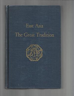 A HISTORY OF EAST ASIAN CIVILIZATION. VOLUME: Reischauer, Edwin O.