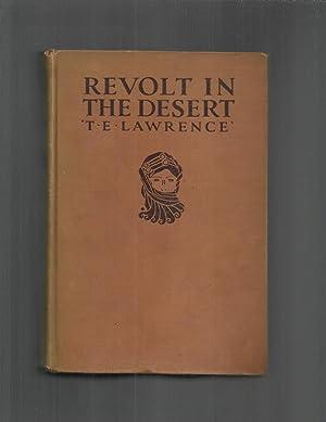 REVOLT IN THE DESERT.: Lawrence,T.E