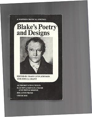 BLAKE'S POETRY AND DESIGNS. Authoritative Texts. Illuminations: Johnson, Mary Lynn