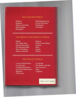 THE OPERA LIBRETTO LIBRARY. The Authentic Texts Of The German, French, And Italian Operas With ...
