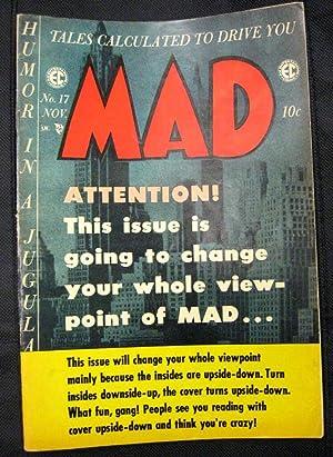 MAD MAGAZINE Volume 1, #17: MAD MAGAZINE (