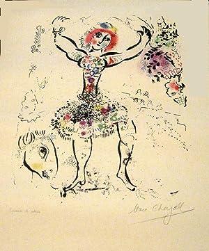 La Jongleuse ( THE WOMAN JUGGLER ): Chagall, Marc