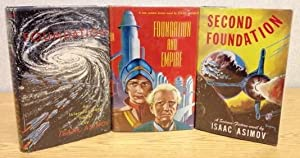 THE FOUNDATION TRILOGY being FOUNDATION, FOUNDATION AND: Asimov, Isaac