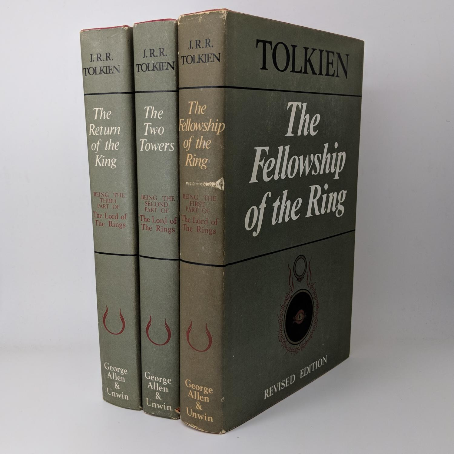 The Lord of The Rings: The Fellowship of the Ring, The Two Towers, The Return of the King - Complete Second Edition Set J.R.R. Tolkien