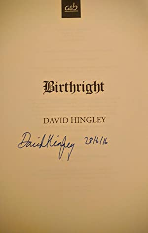 Birthright (Mercia Blakewood) (Signed and Pre-Publication Dated, Limited, First Edition, First ...