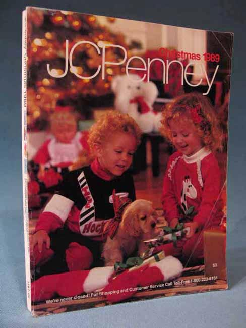 Jcpenney Christmas 1989 Catalog Catalogue J C Jc