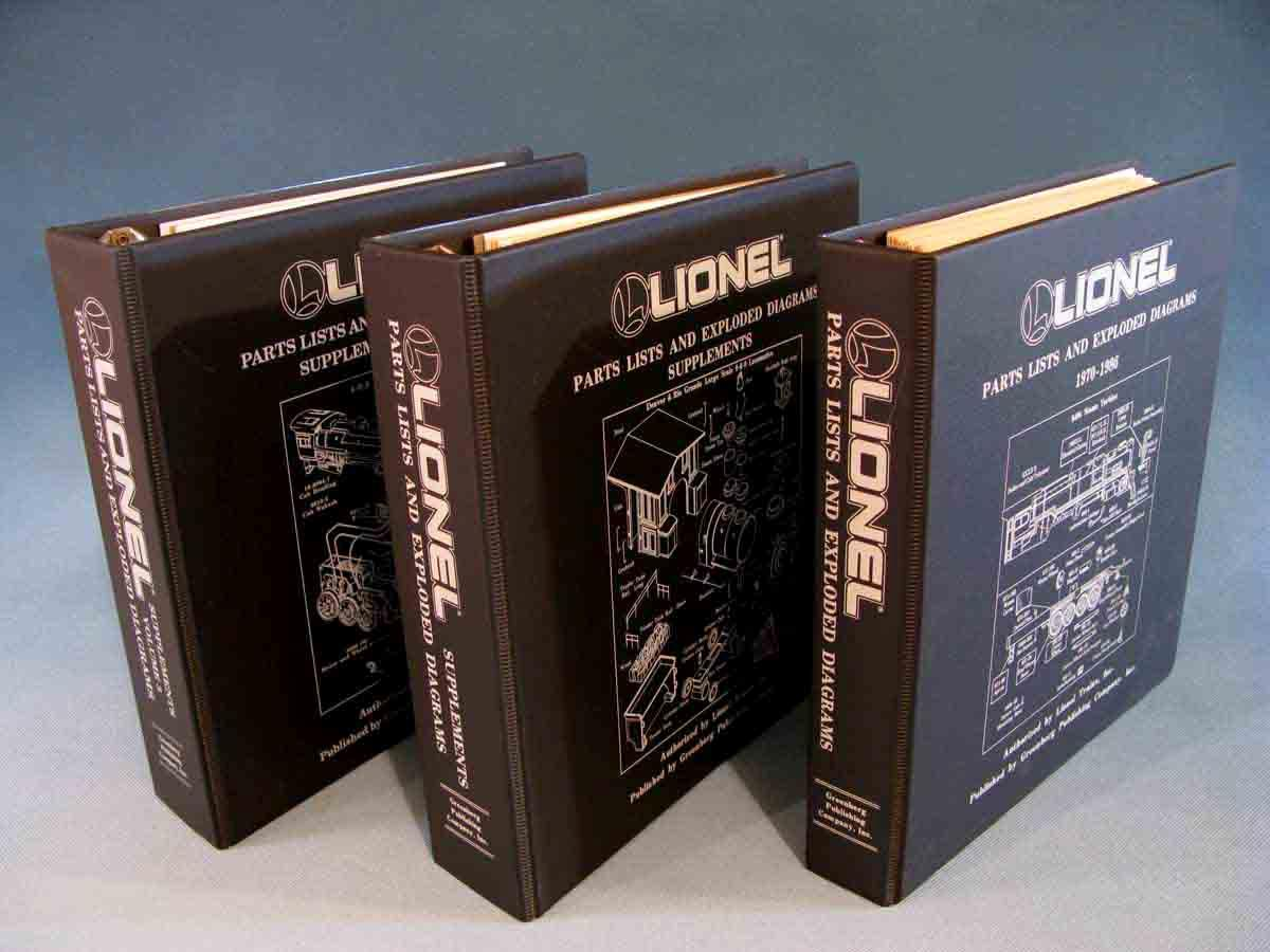 lionel parts list and exploded diagrams 1970 1986 superset. Black Bedroom Furniture Sets. Home Design Ideas