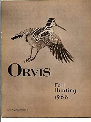 Orvis 'Fall Hunting' 1968 Catalog [catalogue]: The Orvis Company