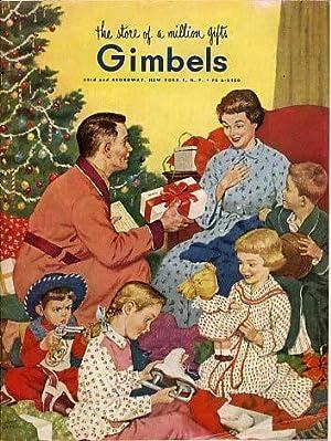 Gimbels 1954 Christmas Catalog [catalogue]: Gimbels, New York City