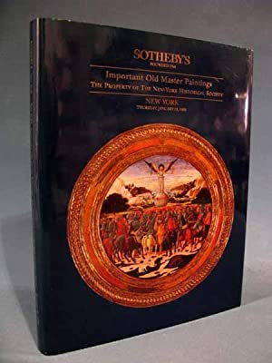 Sotheby's ~ Important Old Master Paintings -: Sotheby's