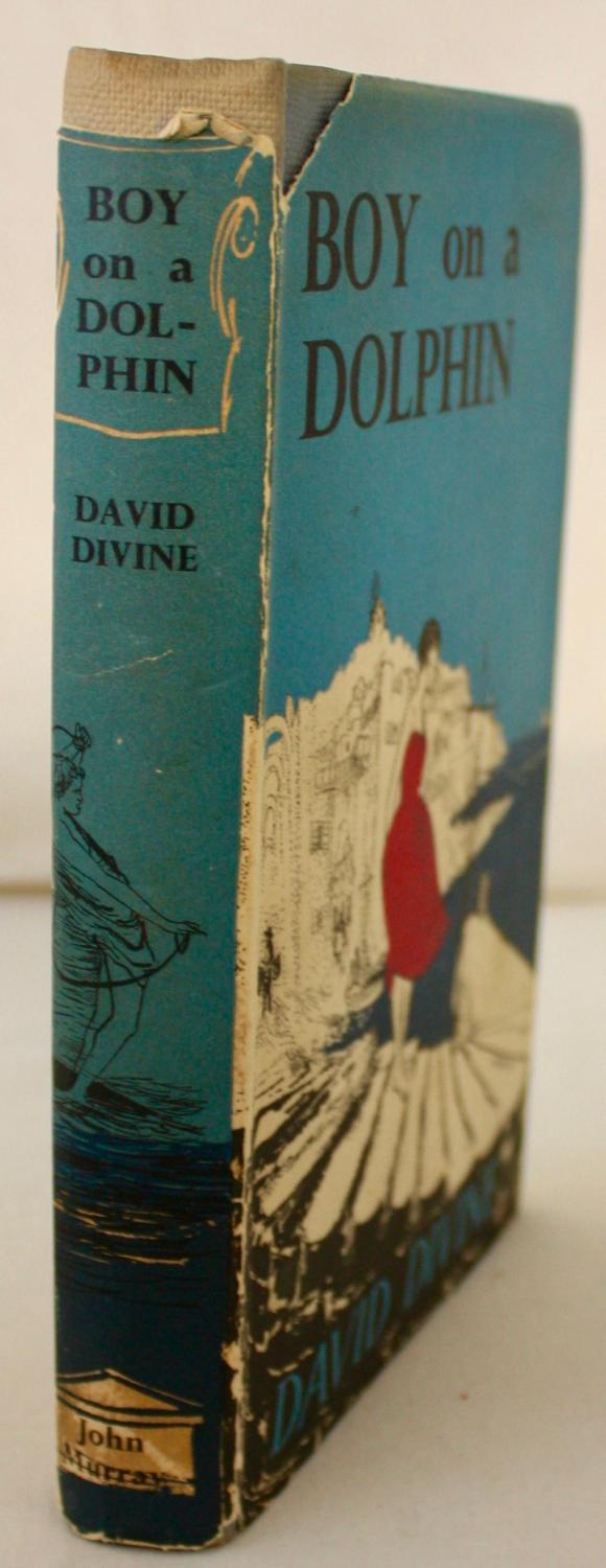 Boy on a Dolphin SIGNED Divine, David