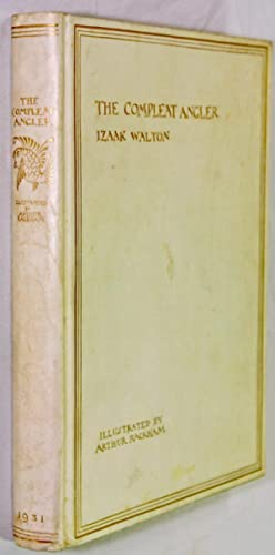 The Complete Angler (Compleat Angler) by Izaak Walton 1/750 SIGNED FINE