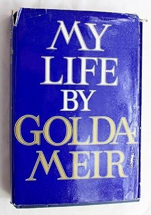 my life signed israeli 1st ed meir golda