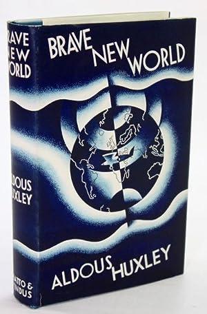 Brave New World exceptional 1st edition: Huxley, Aldous
