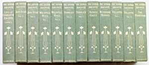 Novels of the Sisters Bronte, 12 vol. Thornton Edition 1907.