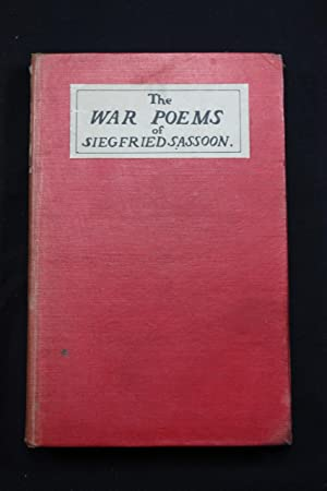 The War Poems with near contemporary manuscript: Sassoon, Siegfried