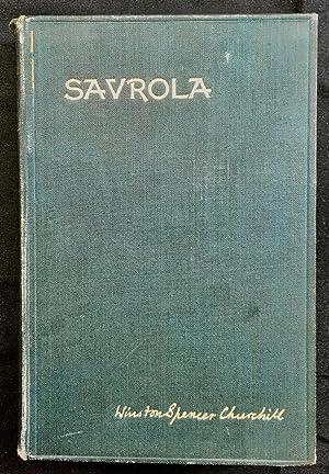 Savrola 1st impression: Churchill, Winston Spencer
