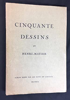 Matisse Cinquante Dessins SIGNED & INSCRIBED 1/1000