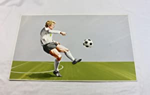 A Collection of 5 Original Colour Footballer portraits from the 1970/1974 World Cups