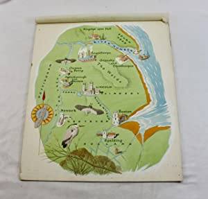 Peter Gross a small group of 7 illustrations of rivers