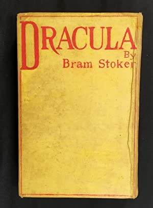 Dracula First Edition second issue,: Stoker, Bram