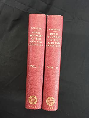 The Rural Economy of the Midland Counties 2 vols 1st ed