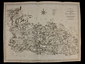 John Cary three maps of The Ridings the East, the North and the South parts of the West Riding Yo...