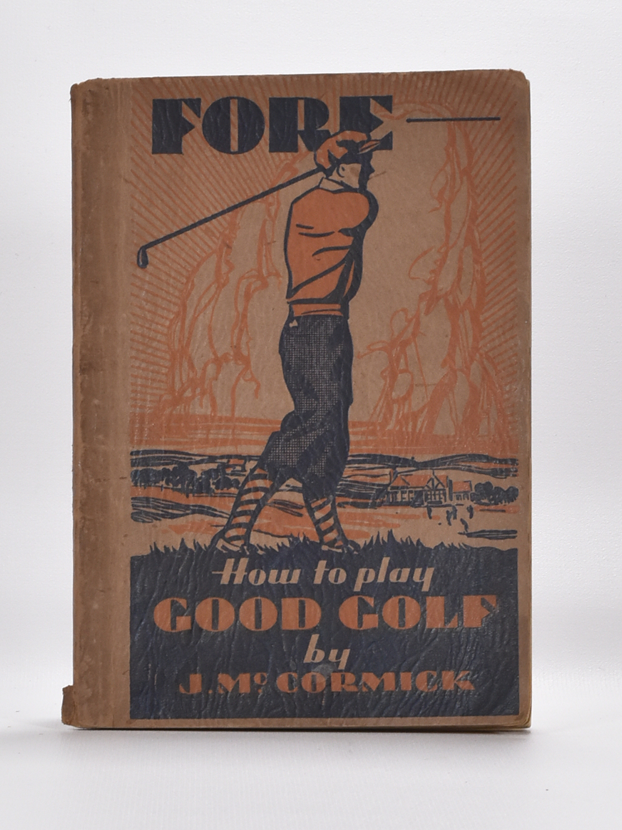 Fore: How to Play Good Golf. McCormick, J. Very Good Softcover