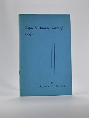 Royal & Ancient Game of Golf, a diary of 72 years