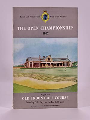 The Open Championship 1962. Official Programme