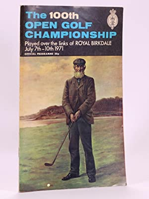 The Open Championship 1971. Official Programme