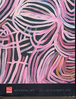 Lawson-Menzies Auction Catalogue: Aboriginal Art 22 +