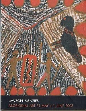 Lawson-Menzies Auction Catalogue: Aboriginal Art 31 May