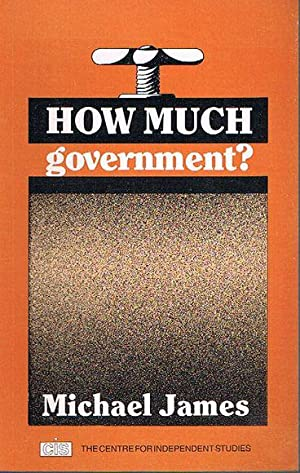 How Much Government: James, Michael
