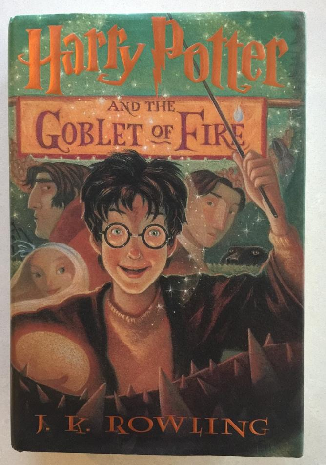 Harry Potter Hardcover Book Value : Harry potter and the goblet of fire by j k rowling